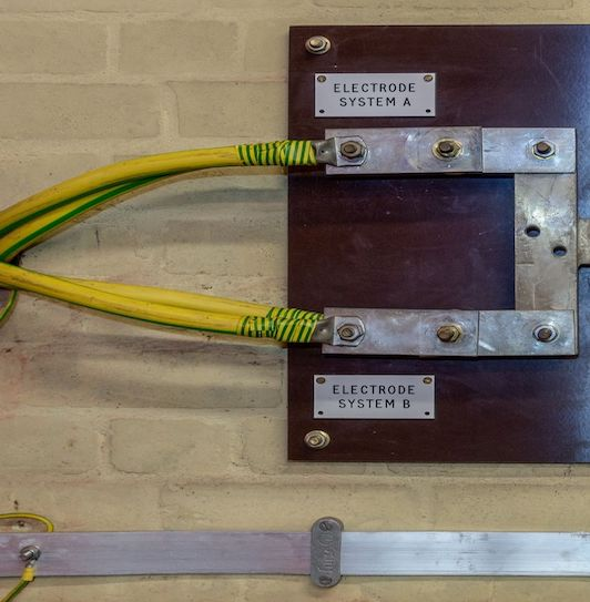 Safe electrical bonding install