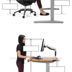 Ergonomic Chair Keyboard Position Desk Bedroom Calculator Uplift Calculate Your Correct