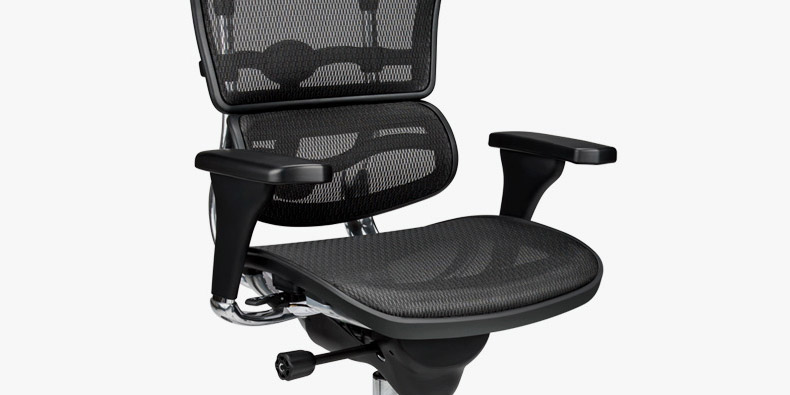 raynor ergohuman chair theater chairs with speakers me7erg uplift desk jam packed ergonomics