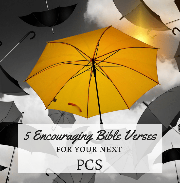 5 Encouraging Bible Verses for Your Next PCS - uplifting anchor