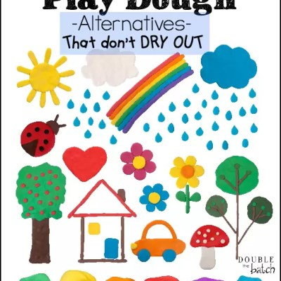Play Dough Alternatives That Don't Dry Out