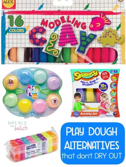fun alternatives to play dough