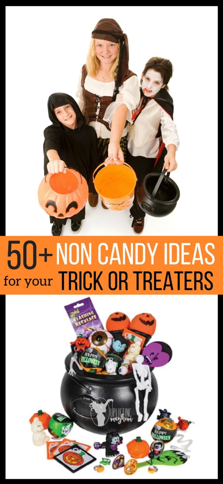 Ideas For Non-Candy Halloween Treats