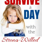 Surviving a Day with the Strong Willed Child