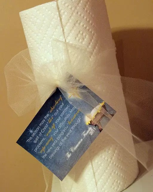 Paper towel Gift
