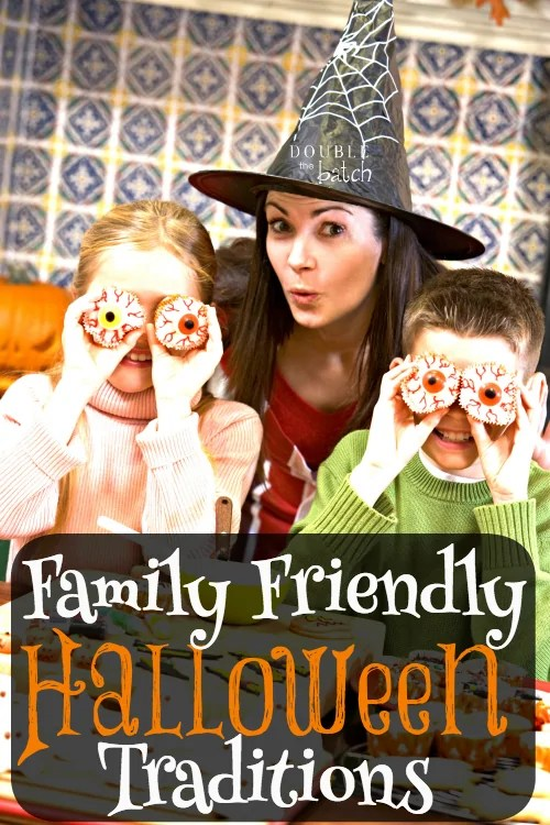 Looking for some fun family friendly halloween traditions? This list offers plenty of different options besides the traditional trick-or-treating that you and your kids can do every year.