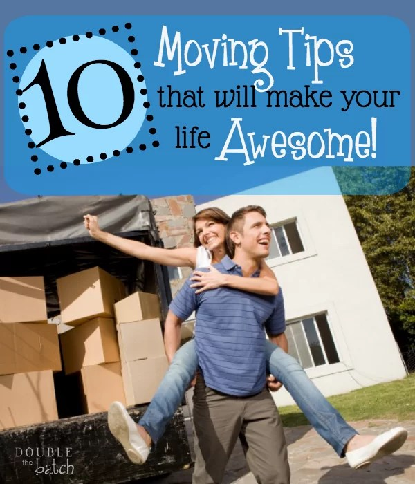 Awesome moving tips! Everything you need to take care of & consider before your actual move.