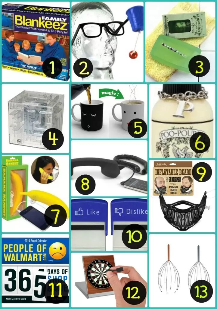 Gag Gifts/Stocking Stuffers For Your Husband! Saving this for later!