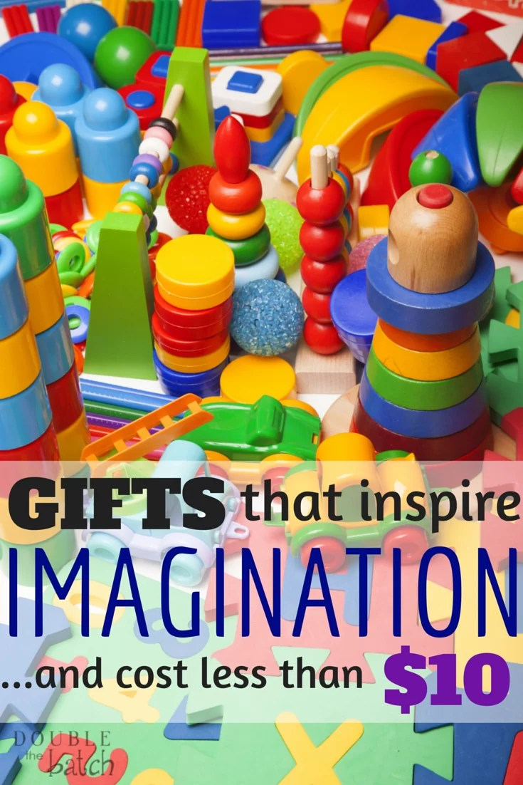 Budget friendly toys for kids that inspire imagination.
