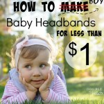 How to get baby headbands for CHEAP!