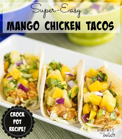 Costco's Mango salsa + Chicken = Awesomeness. We have it as tacos the first night, nachos (or burritos) the 2nd night, and if there's any left by the 3rd night, it goes on a salad. It tastes good a variety of ways!