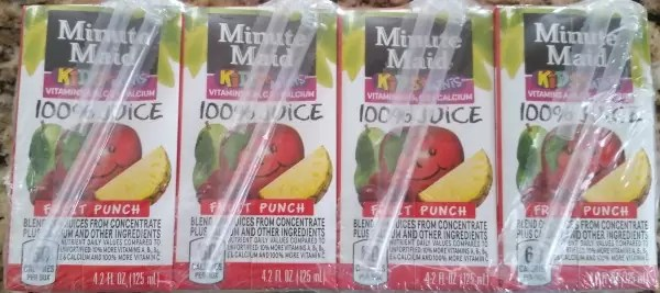 Mini Juice Boxes
