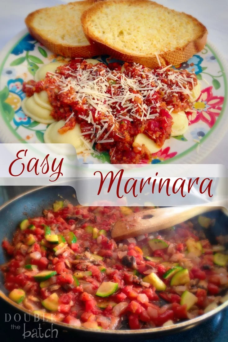Easy Homeade Marinara Sauce
