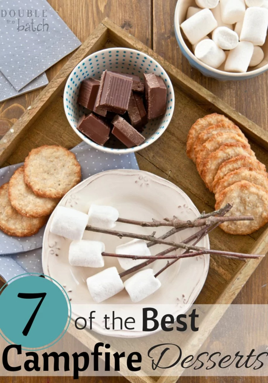 7 of the best campfire desserts