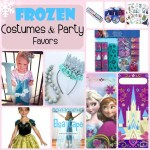 The Best Frozen Costumes and Party Favors