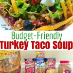 Budget Friendly Turkey Taco soup