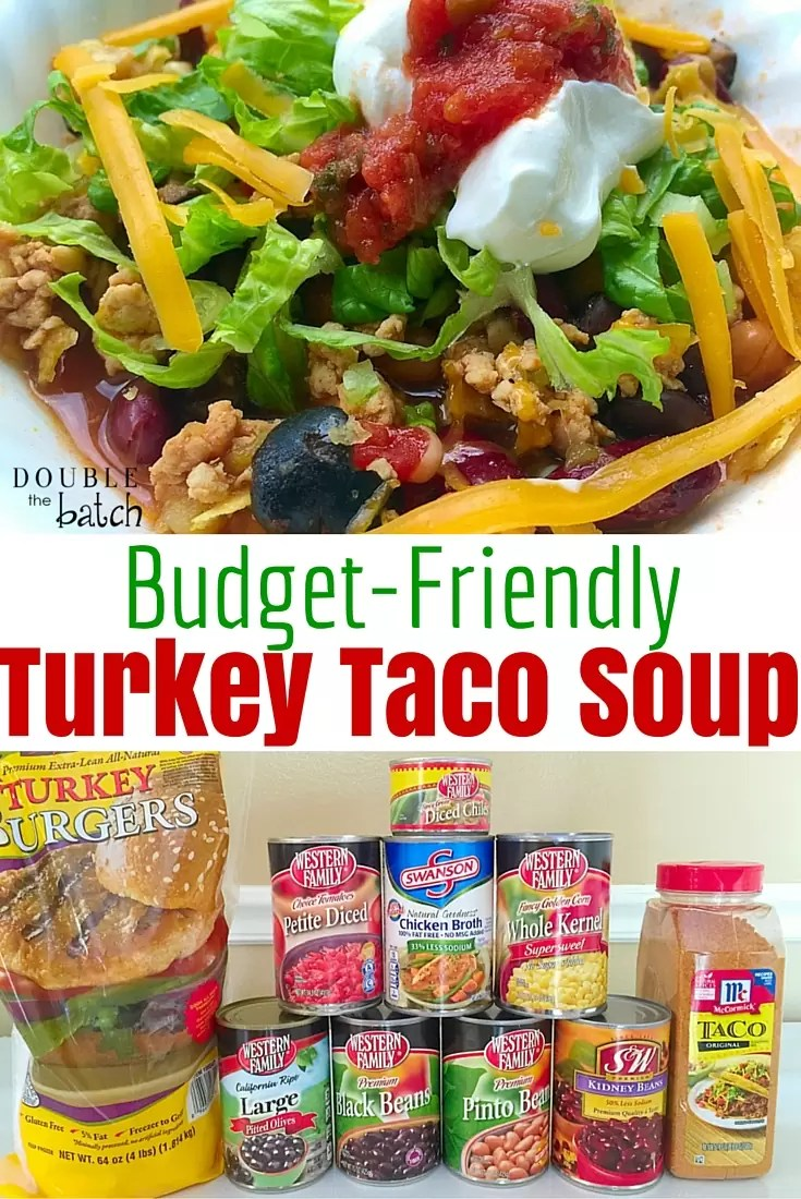 One of my favorite budget friendly dinners! Also great in the fall and for Halloween night before trick-or-treating!