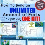 How To Build an Unlimited Amount of Forts With Just ONE Kit