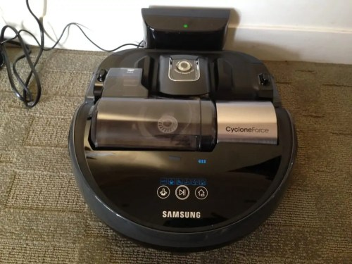 This vacuum is so cool! It takes care of the vacuuming for me so I can tend to more important things. Love it!