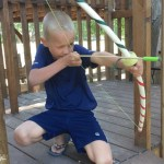 DIY – The ULTIMATE PVC Bow and Arrow!