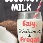 Easy, Homemade Coconut Milk