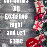 Christmas Gift Exchange Right or Left Game