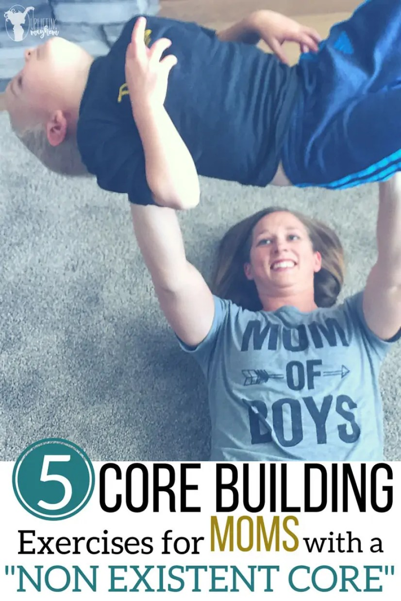 Core Building Exercises for MOMS