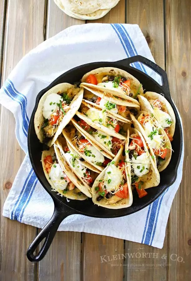 Baked Chicken Street Tacos and other easy chicken recipes