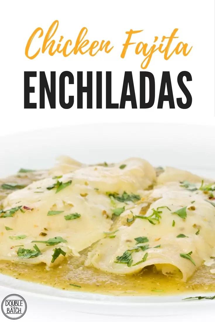 creamy chicken enchiladas + other yummy chicken recipes