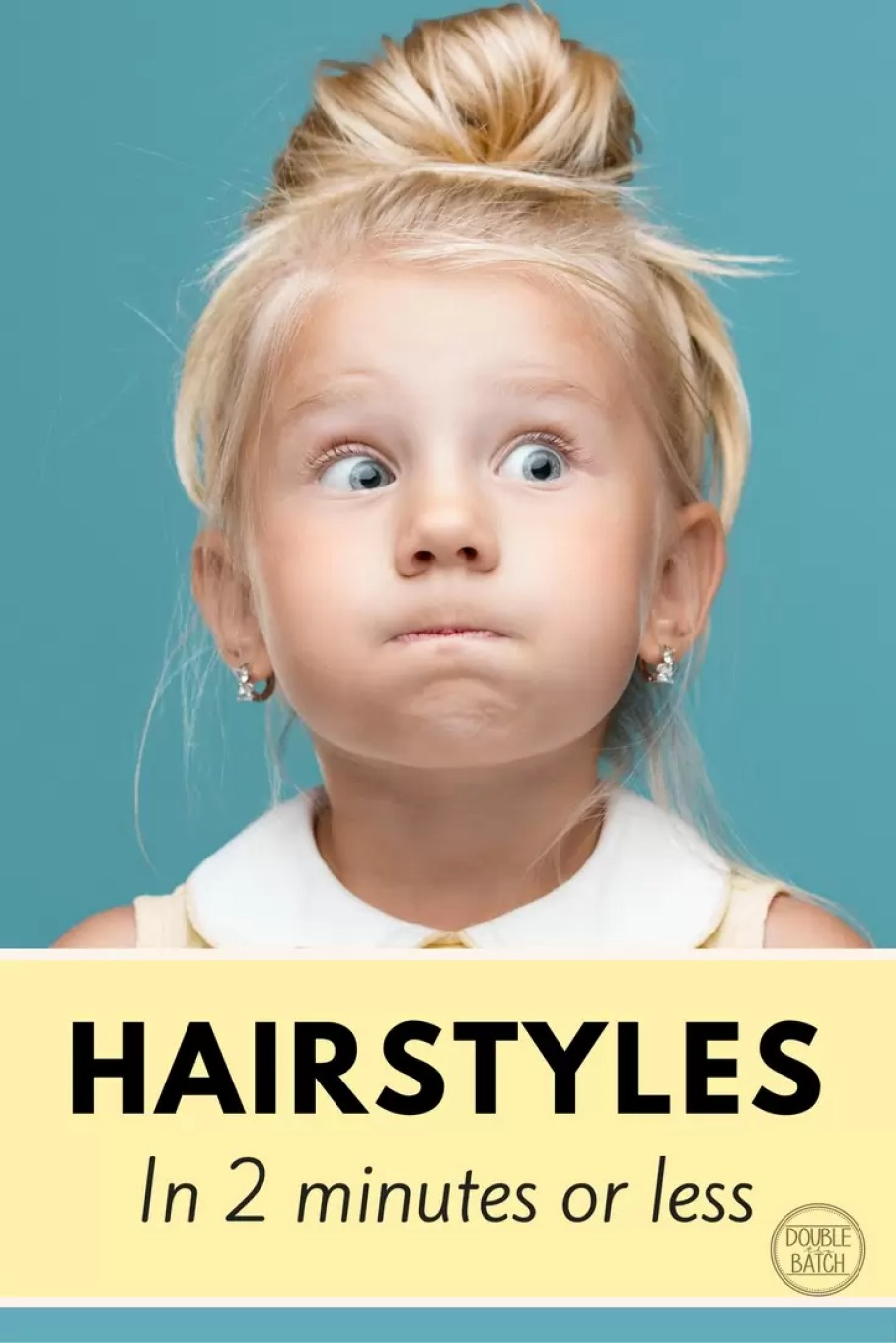 Quick and Easy Hairstyles for Little Girls (2 Minutes or Less ...