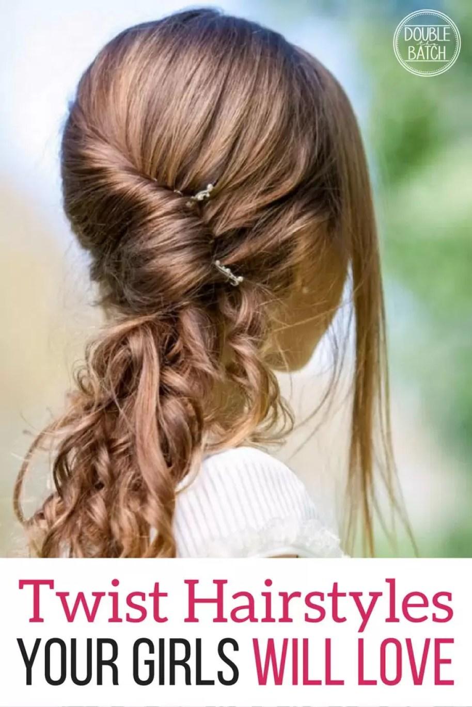 Twist Hairstyles For Little Girls - Uplifting Mayhem