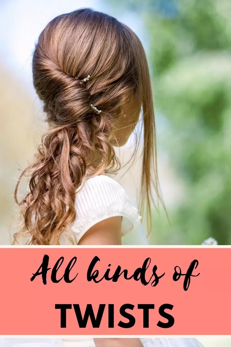 Twist Hairstyles for girls