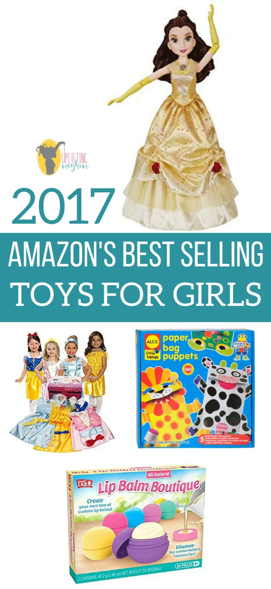 Bestselling Toy Brands On Amazon Com: Amazon's Best-Selling Toys For Girls 2017