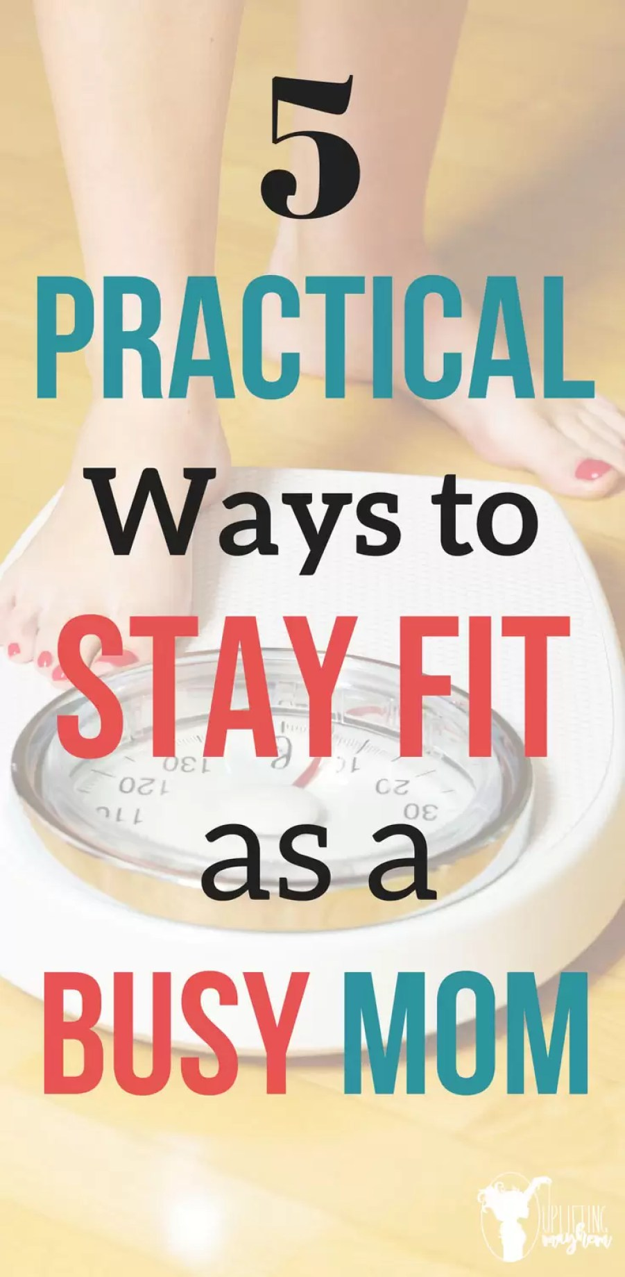 Its hard to stay fit and in shape as a busy mother. It is hard to find the time to do it all. Great tips to incorporate exercise into your everyday life.