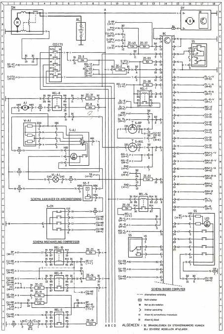 Schema Elettrico Fiat Punto Multijet: Schema elettrico