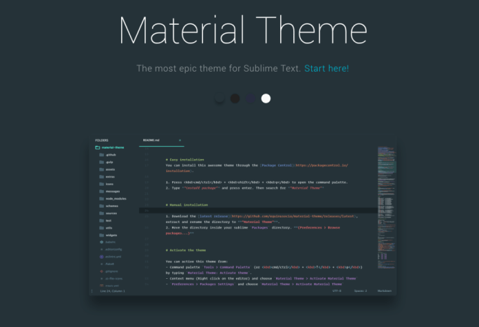 2 - Material Theme
