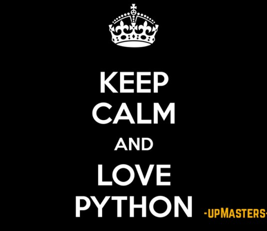 keep calm and love python