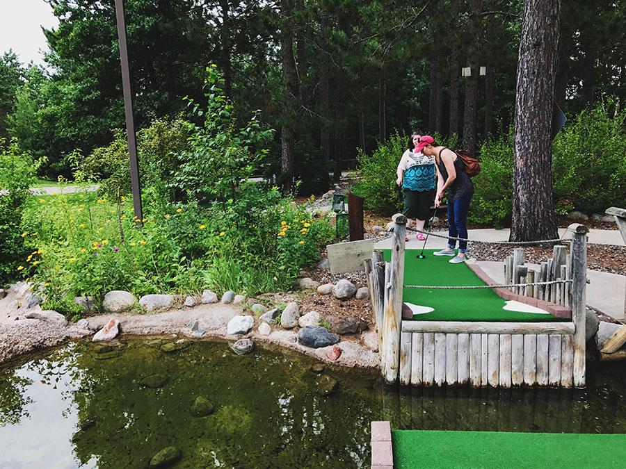 Wildwedge Mini Golf in Pequot Lakes, Minnesota | Up North Parent