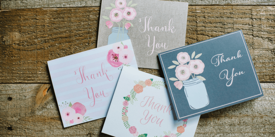 The Art of Writing a Thank You Note