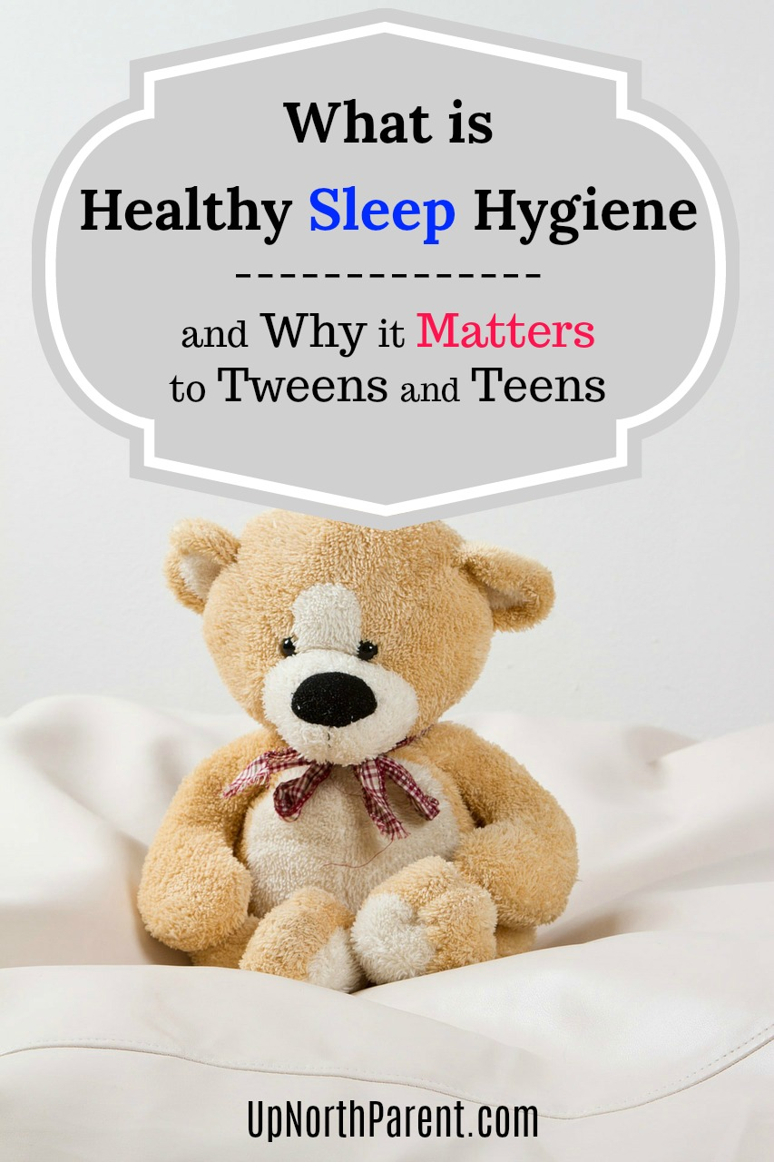 Healthy Sleep Hygiene is a new term coined by doctors and experts, referring to the cultivation of healthy sleep habits and why our teens need more sleep. #sleep #parenting #teens #tweens #teenagers #sleephabits