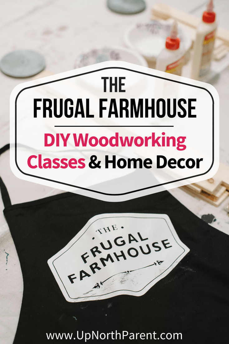 The Frugal Farmhouse of Pillager, MN is know for beautiful rustic farmhouse handmade signs and home decor, as well as DIY woodworking classes and workshops.