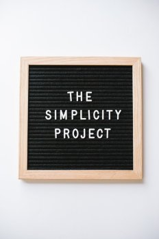 The Simplicity Project with Up North Parent | 5 Reasons to Simplify Your Life
