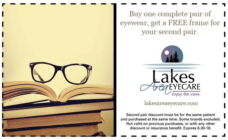 Lakes Area Eyecare Sale
