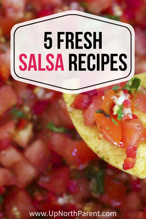 "Going Beyond ""Just Tomatoes"" with 5 Fresh Salsa Recipes! by Up North Parent"