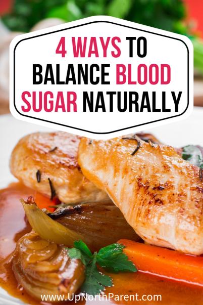 Four Ways to Naturally Balance Blood Sugar