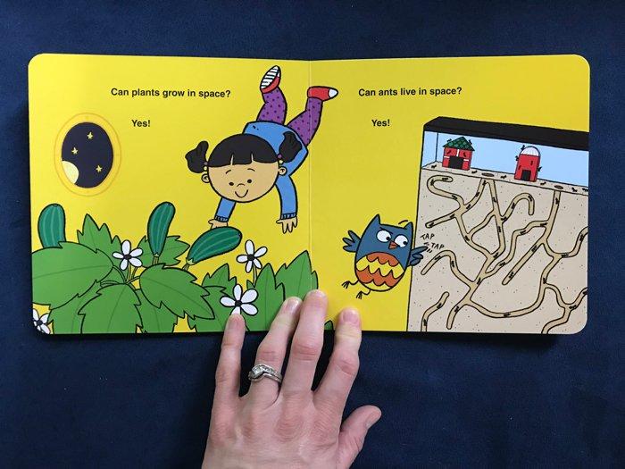 Baby Scientist Children's Books | Baby Astronaut by Laura Gehl