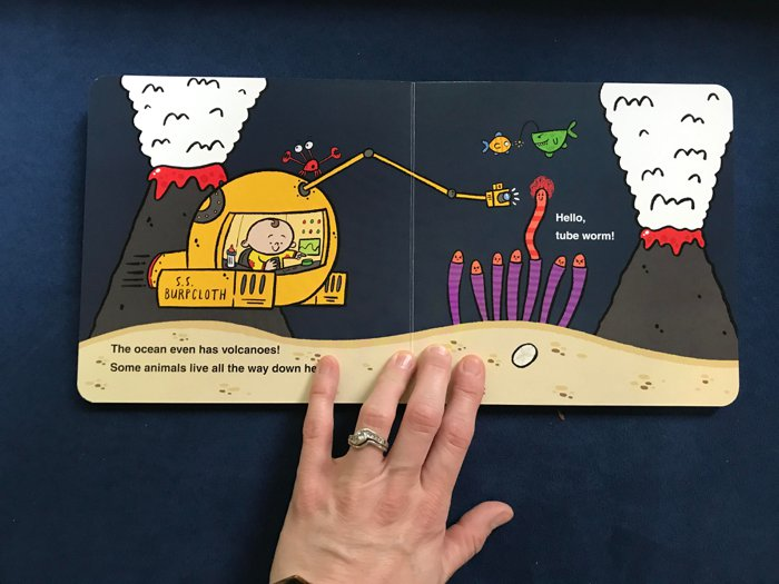 Baby Scientist Children's Books | Baby Oceanographer by Laura Gehl