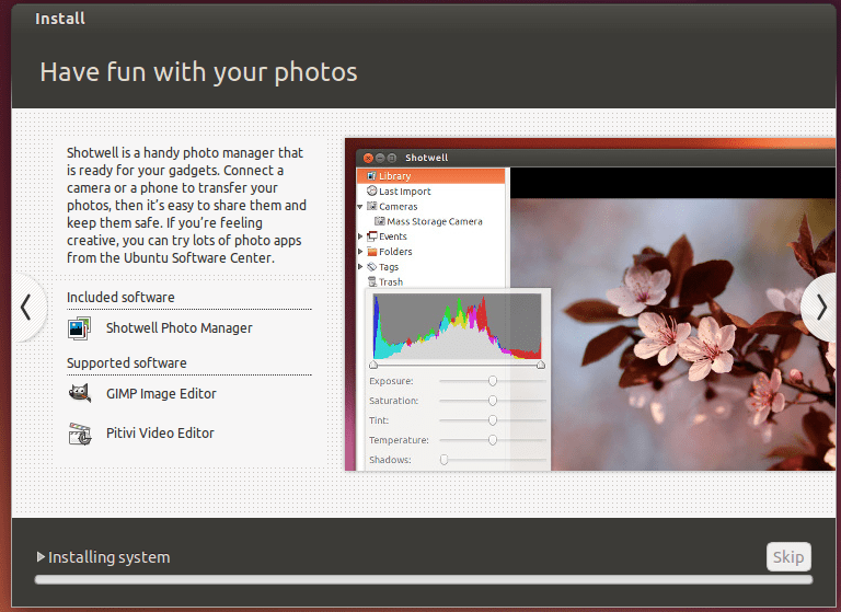 Install Ubuntu screen