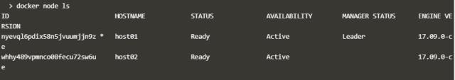 Node added to Docker Swarm Cluster