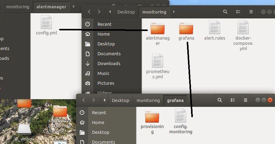 Monitoring Folder structure